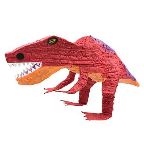 Trendario Pinata T-REX, Ideal zum Befüllen mit Süßigkeiten und Geschenken - Piñata Dino für Kindergeburtstag Spiel, Geschenkidee, Party, Hochzeit