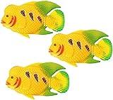 TBNB Peces Artificiales de Acuario, plástico Realista, Peces flotantes Artificiales en Movimiento, Adornos, Adornos, pecera, Peces Tropicales Falsos, Peces Tropicales, Divertidos y lumi