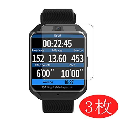 VacFun 3 Piezas HD Claro Protector de Pantalla Compatible con Microwear H5 Smartwatch Smart Watch, Screen Protector Película Protectora(Not Cristal Templado)