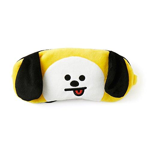 BT21 Official Merchandise by Line Friends - CHIMMY Character Eye Sleep Mask for Men & Women