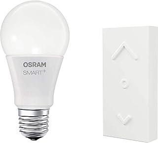 OSRAM Smart+ Kit Télécommande Mini Switch + Ampoule LED Connectée | E27 | Forme Standard | Dimmable | 16 Millions de coule...