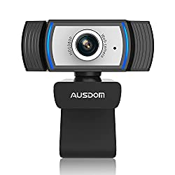 professional AUSDO MAW33 Full HD webcam with 1080P webcam, integrated USB stream with noise suppression microphone …