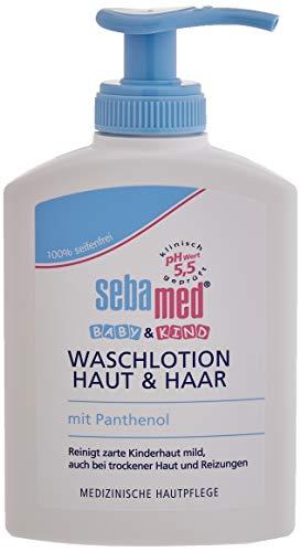 Sebamed Baby Waschlotion Haut & Haar, 3er Pack (3 x 200 ml)
