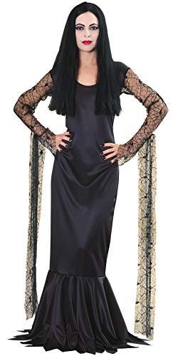 Rubbies - Disfraz de morticia para mujer, talla 8-10 (15526M)