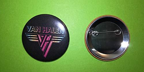 Blue Hawaii BA1112 / Badge 56 mm/Neuware/Van Halen – Rainbow