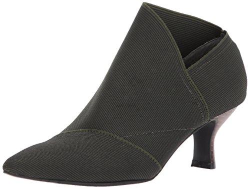 Adrianna Papell Women's Hayes Ankle Boot, Hunter Waldo Stretch, 6.5 Medium US