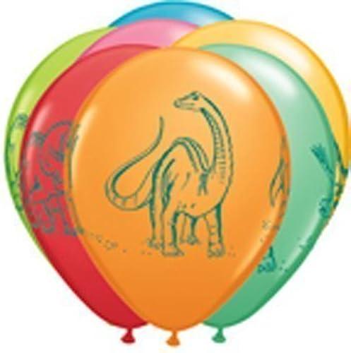 Dinousaur Dino Latex Balloon Assortment (6) by Balloon Emporium by Balloon Emporium