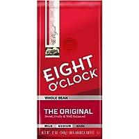 Eight O'Clock Original Medium Roast Whole Bean Coffee - 12oz / エイトオクロック オリジナル ミディアムロースト コーヒー豆 [並行輸入品]