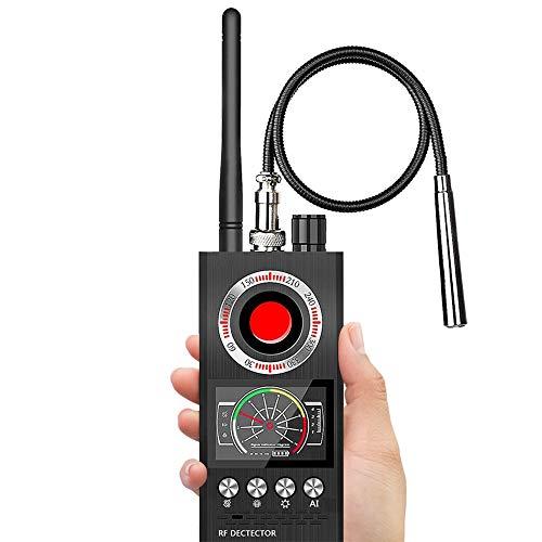 Dr.Taylor Detector de Señal de RF Inalámbrico, Detector de Errores de Piratería Anti Espía, Escáner del Buscador de la Cámara Oculta, Ubicación del Rastreador GPS, Protector de Privacidad