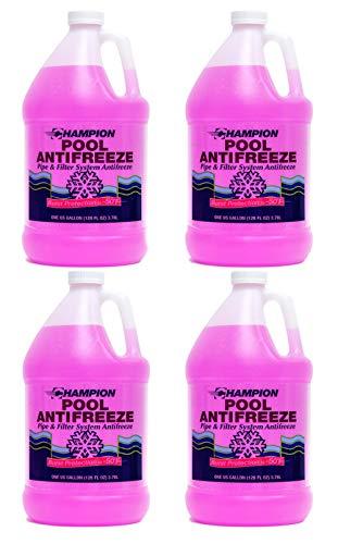 Champion Non-Toxic Swimming Pool Anti-Freeze - 4 Gallons