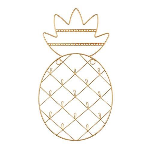 Sass & Belle Gold Ananas Wand montiert Schmuck Halter