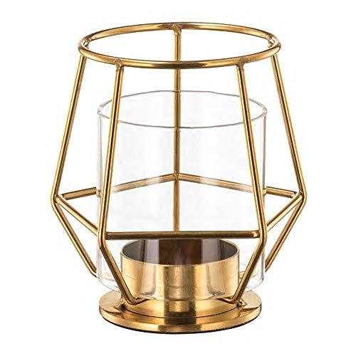 IKEA/イケア PARLBAND/ペルルバンド:ティーライトホルダー10 cm ゴールド (303.485.46)