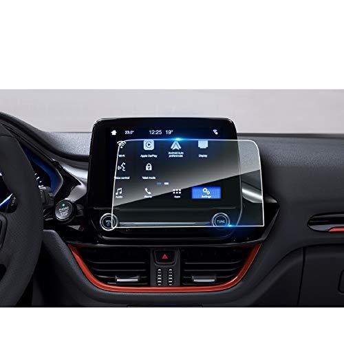 LFOTPP Ford Fiesta ST 8 Pollici Navigazione Pellicola Protettiva in Vetro Temperato Screen Protector Film - 9H Antigraffio HD Alta Trasparente Glass