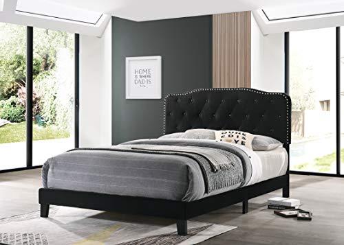 Best Quality Furniture Platform, Full, Black