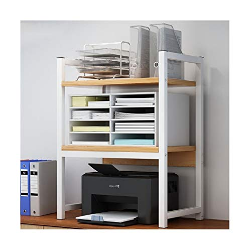Support pour Imprimante Imprimer Bureau rack de bureau Copie de documents en rack multi-couche Support de rangement multifonctions Bureau des ménages Organisateur Shelf Supports Imprimantes