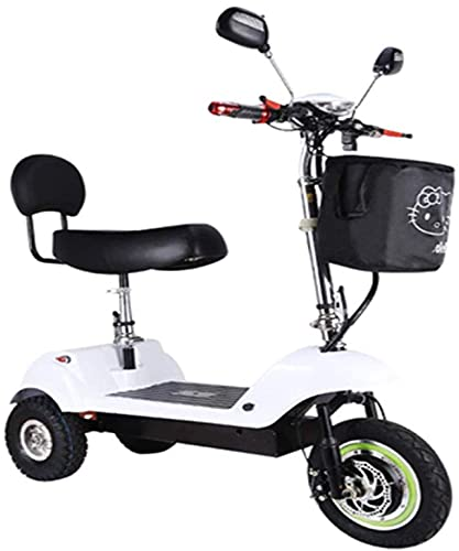 Xiaokang Mini Triciclo eléctrico de Alto Valor, Coche eléctrico Femenino Adulto pequeño,...