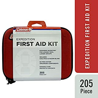 Coleman Camping All Purpose First Aid Essentials Kit for Emergencies - 205 Pieces (B00GOPNO6C) | Amazon price tracker / tracking, Amazon price history charts, Amazon price watches, Amazon price drop alerts