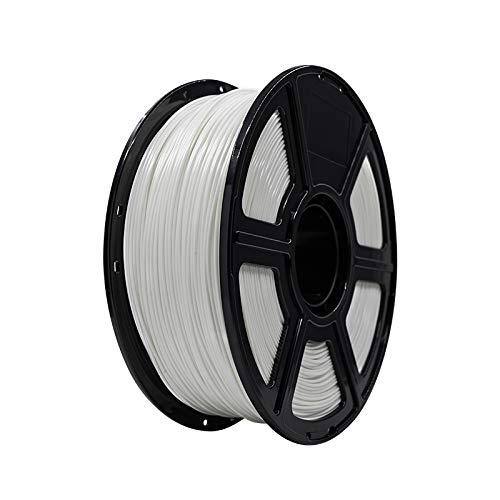FLASHFORGE Filamento per Stampa 3D ABS 1.75mm 1KG/Rotolo per Serie Creator PRO (Bianca)