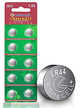 Beidongli LR44 Batteries AG13 357 high Capacity 1.5V Button Coin Cell 10 Count Battery