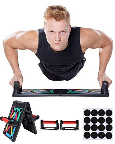 NMB Sports - 12 in 1 Push Up Board - innovativer Home-Workout Trainer inklusive Trainingsanleitung - 2 Jahre Zufriedenheitsversprechen - Sicherer Muskelaufbau für zu Hause