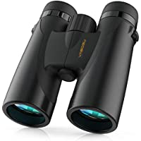Vabogu 12 x 42 BAK4 Prism FMC Lens Low Light Night Vision Binoculars