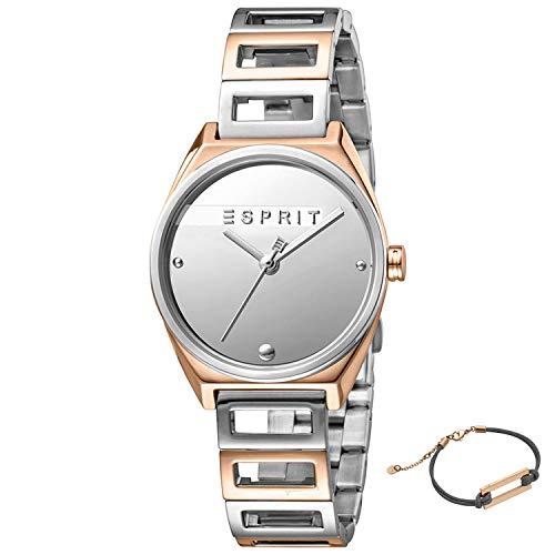 Esprit Uhr Damen Silber