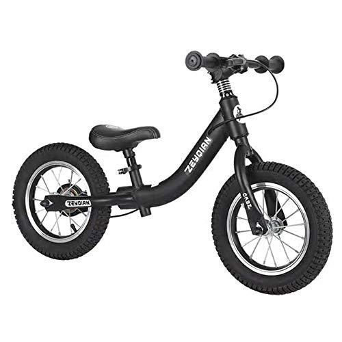 Balance Bike Bambina Balance Training Bicycle Balance Bike Nessun Pedale Walking Processo di Verniciatura a Forno Ad Alto Tenore di Carbonio per Bambini E Bambini dai 3 Ai 6 Anni
