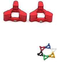 Fork Preload Adjusters For DUCATI Streetfighter 09-10 1198 09-10 848 07-10 1098 07-08 999 03-06 Hypermotard 1100 S EVO 07-08 Red
