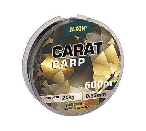Jaxon Angelschnur Carat CARP 600m Spule Monofile Karpfen Schnur TOP (0,018€/m) (0,35mm / 21kg)