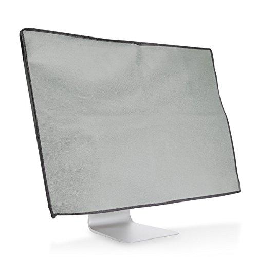 "kwmobile Funda de Monitor Compatible con Apple iMac 27"" / iMac Pro 27"" - Cubierta Protectora Antipolvo para Pantalla - Protector Gris Claro"
