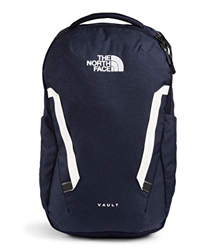 The North Face Vault Backpack, Aviator Navy Light Heather/TNF White, One Size