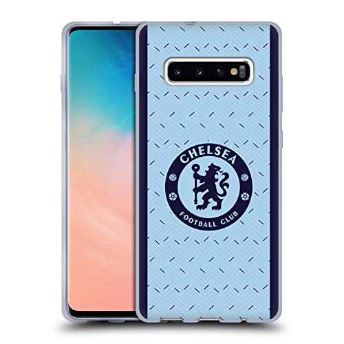 Head Case Designs Officially Licensed Chelsea Football Club Away 2020/21 Kit Soft Gel Case Compatible with Samsung Galaxy S10+ / S10 Plus