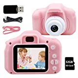 Kids Camera Children Digital Cameras - 8M HD 1080P IPS 2.0 Inch with 32GB TF Card Kids Digital Camera for Girls Boys Holiday Birthday Creative Gifts, Rechargeable Mini Camera Video Recorder, 3-12 YS - Best Reviews Guide