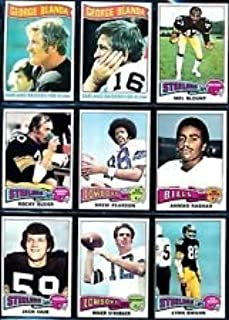 1975 Topps Football Complete 528 Card Set Lynn Swann, Dan Fouts, Mel Blount Rookies
