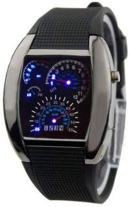 Outletisimo® - Reloj LED versión Deluxe para coche, unisex, unisex, RPM, Turbo