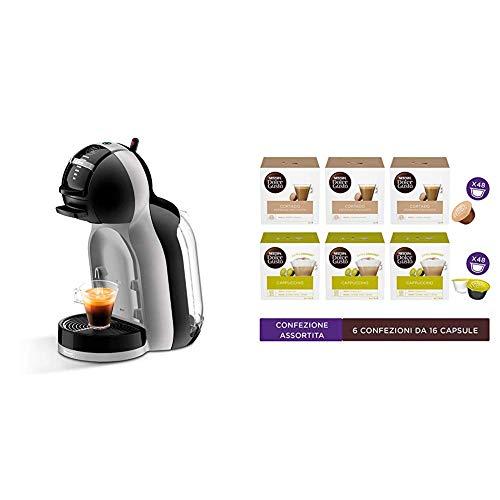 Nescafé Dolce Gusto Mini MeEDG155.BG + Nescafé Dolce Gusto Confezione Espresso Macchiato e Cappuccino