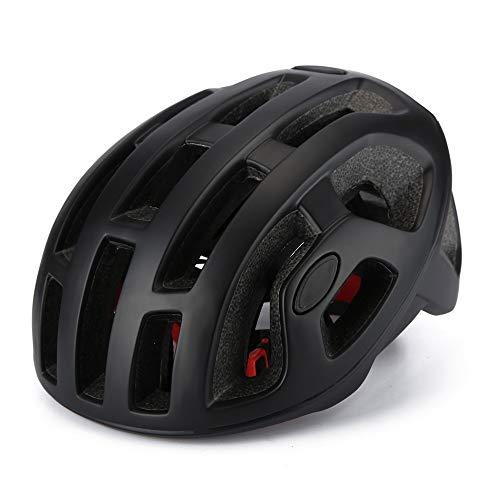 GSDJU Casco de bicicleta para hombre mate neumático día de carrera casco de bicicleta profesional mtb casco de carreras ultraligero ciclismo con tapa segura