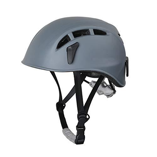 XYW Casco Adulto Casco de Escalada al Aire Libre - Ciclismo Sombrero de Seguridad Hombres y Mujeres expandir el Casco Protector de Escalada en Roca Ligero (Color : C)