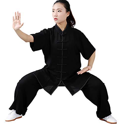 Daoba Sommer-Kampfsport Tai Chi Uniform Wing Chun Shaolin Anzug Kung Fu Uniformen Unisex Zweiteiliger Anzug