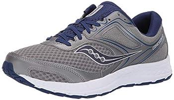 Saucony Men s Versafoam Cohesion 12 Road Running Shoe grey/blue 10 W US