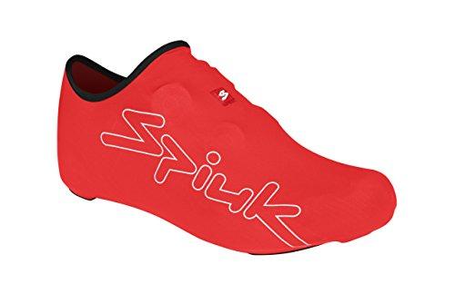 Spiuk XP - Botín de Lycra Unisex, Color Rojo, Talla única