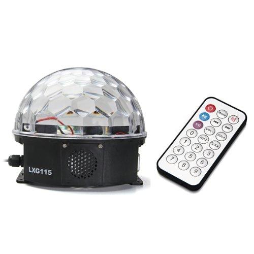 12W LED RGB Bola Luz Iluminación Efecto Disco DJ Fiesta Par