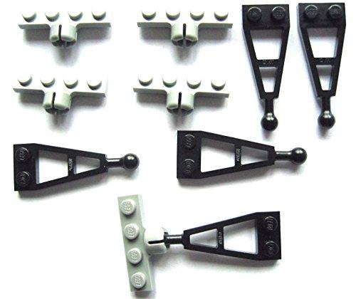 LEGO CITY - 5 PAARE Anhängerkupplungen - Kupplungen für Autos