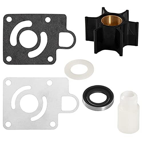 Water Pump Impeller Kit for Chrysler Force 75 85 90 100 105 115 125 140 HP Replaces OEM: 12012 FK1069 F523065-1