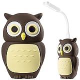 Banque d'énergie 6700mAh chargeur portable avec lumière USB LED, Charge vite de 2.1A, Animal Animé Enfants Filles paquet de batterie pour iPhone iPad Samsung Galaxy Android Téléphone Tablet-Hibou