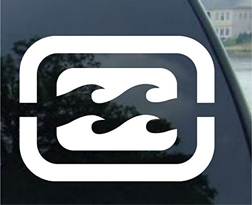 Billabong - Car, Truck, Notebook, Vinyl Decal Sticker #2370 | Vinyl Color: White