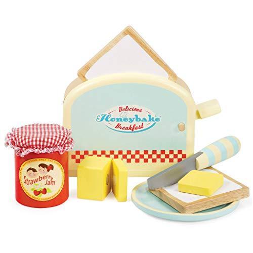 Le Toy Van Toaster aus Holz Mehrfarbig, Mehrfarbig