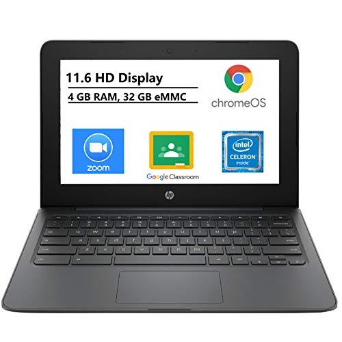 HP 14' (1366 x 768) Screen LED Laptop, AMD A9-9425 Processor, 16GB DDR4 Memory, AMD Radeon R5 Graphics, 256GB Solid State Drive, Ash Silver, Windows 10 Home + Ptech 4 Port USB 2.0 Hub Bundle