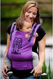 Tula Ergonomic Carrier, Humming Birds Purple-Toddler Size, 25-60 Pounds