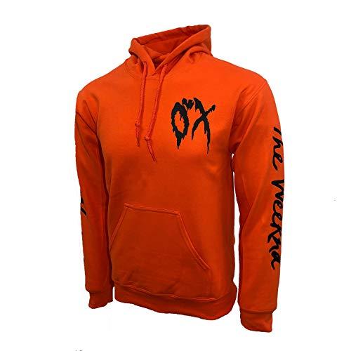 The Weeknd XO New Melting Logo Hoodie Orange